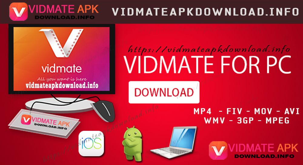 Vidmate APK for PC