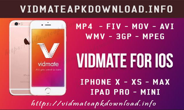 Download Vidmate APK for iPhone
