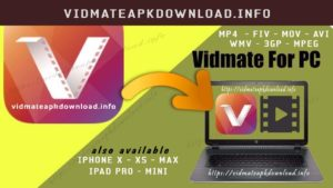 Vidmate APK Download for PC