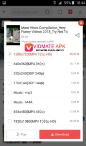 How to Use VidMate APK Tutorials Step 5